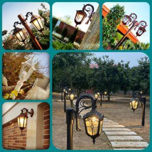 بورس انواع پایه چراغ های پارکی باغی و خیابانی در بازار تهران