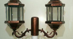 چراغ پایه دار باغچه در متراژ های