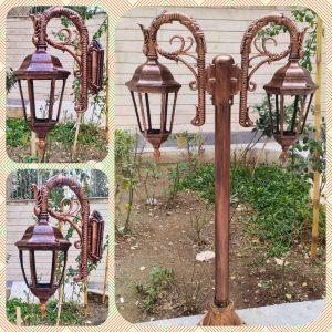 متفاوت ترین طرح های پایه چراغ باغی