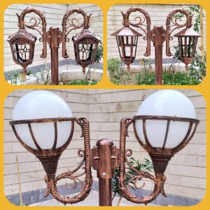 مرکز پخش پایه چراغ باغی سفارشی