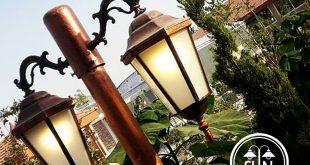 چراغ حیاطی پایه بلند